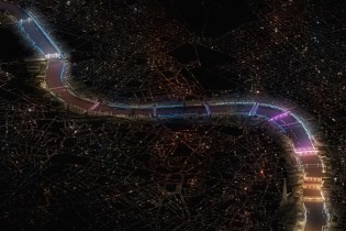 London's Bridges Will Artistically Light up Thanks to a New York Artist