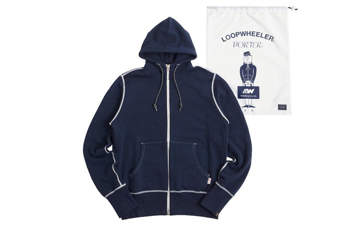 LOOPWHEELER and PORTER Team up for a Collection of Fleece Goods