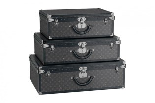 For the First Time Ever Louis Vuitton's Monogram Eclipse Hard Sided Collection Will Be Available in the U.S.