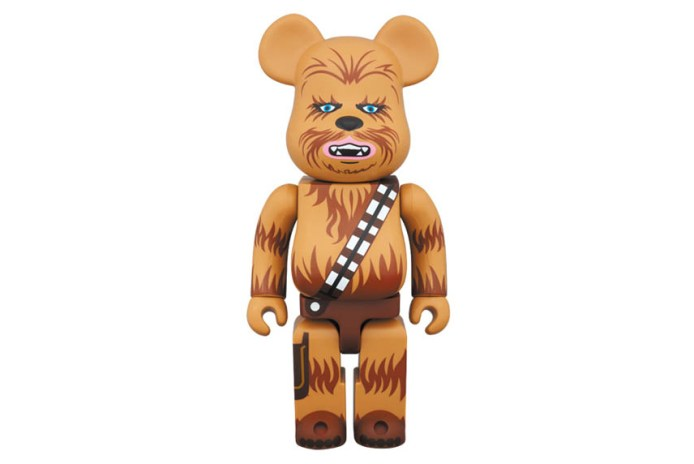 Chewbacca Gets Revamped Into a Bearbrick