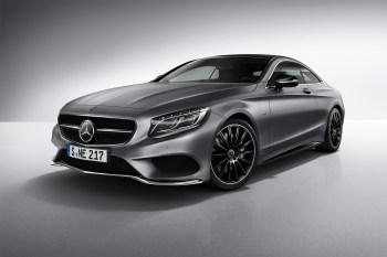 The Mercedes-Benz S-Class Coupe Gets Fitted for the Night