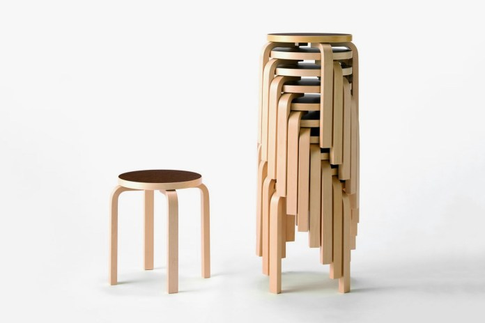 MUJI Drops an Exclusive Version of Artek's Iconic Stool E60