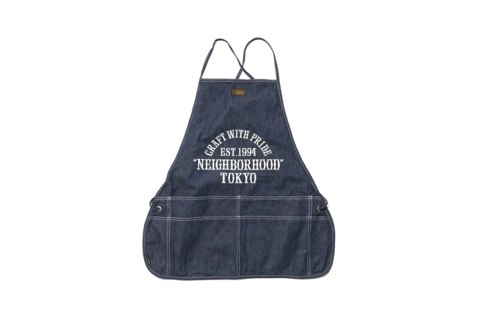 """NEIGHBORHOOD Releases A """"Craft With Pride"""" Apron"""
