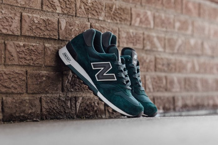 New Balance's American-Made 1300 Arrives in Premium Dark Green Suede