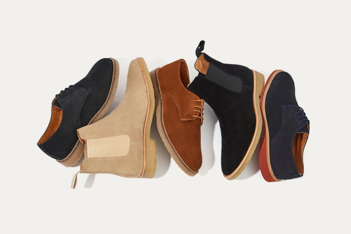 New Republic Releases a Holiday Collection of Chelsea Boots and Bucks