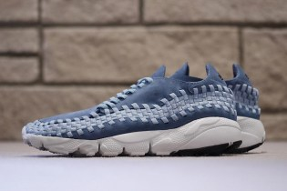 "A ""Smoky Blue"" Theme Meets the Nike Air Footscape Woven"