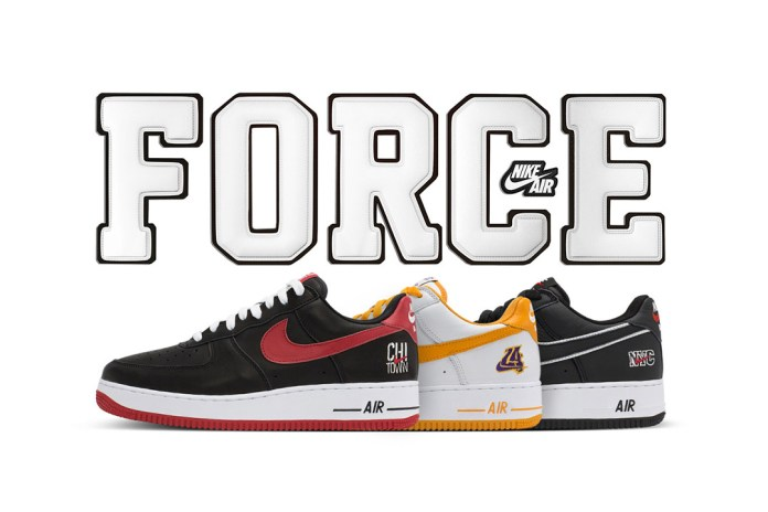 """Nike's Air Force 1 """"City Pack"""" to Re-Launch After Initial Limited Release"""