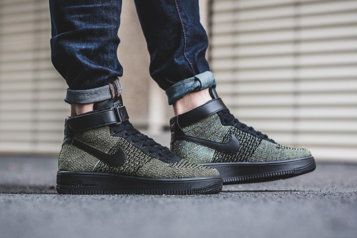 Nike's Air Force 1 Ultra Flyknit Mid Gets Revamped in Dark Green