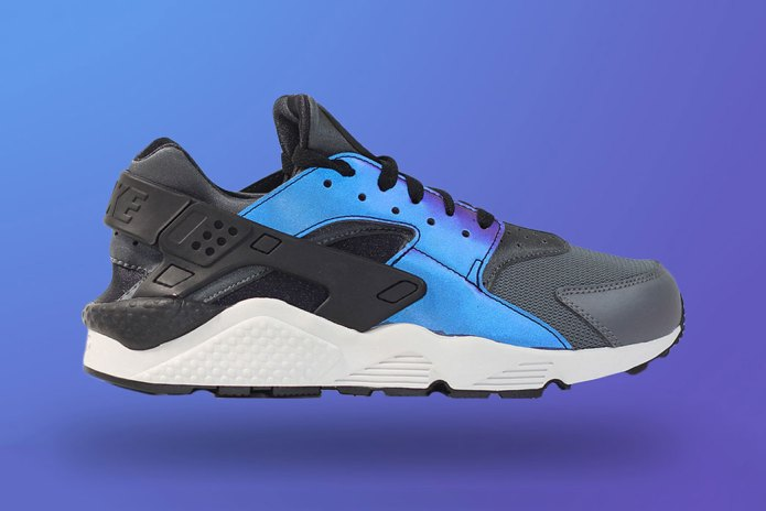 The Nike Air Huarache Makes an Iridescent Comeback