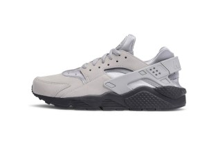 "Nike's Drops a Special Edition ""Matte Silver"" Air Huarache Colorway"