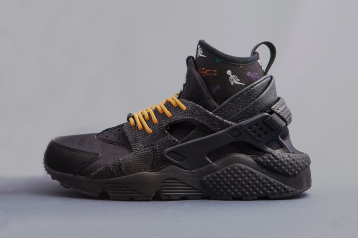 "An Exclusive First Look at the Nike Air Huarache Sock ""Day of the Dead"""