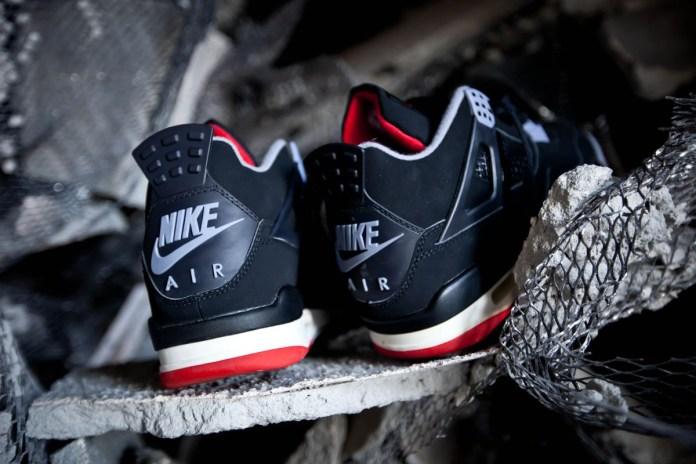 "Nike Air Jordan 4 Retro ""Bred"" to Return in the New Year"