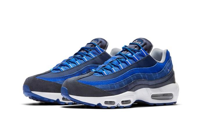 Nike Air Max 95 Goes All Blue