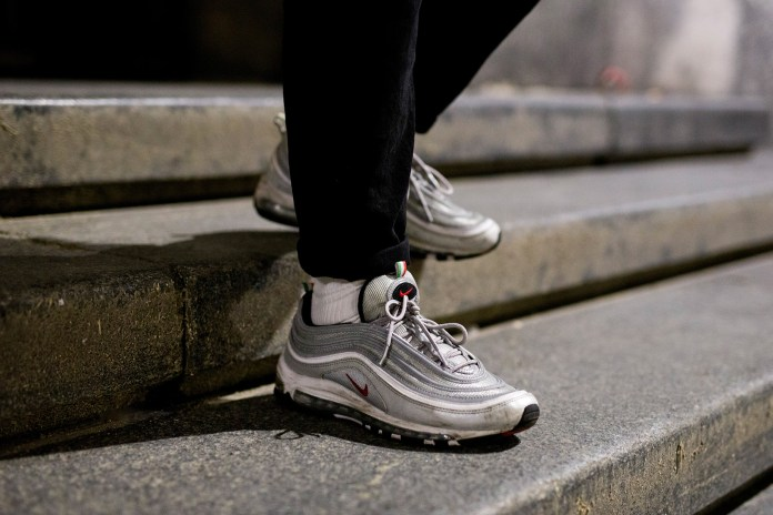 "The Sharpest Looks from Milan's Nike Air Max 97 ""Silver"" Launch Party"