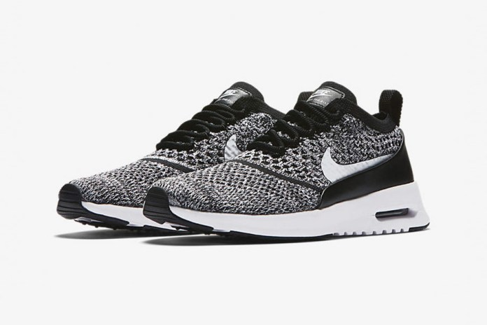 "Nike's Air Max Thea Ultra Gets Clad In ""Oreo"" Flyknit"