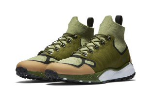 The Nike Air Zoom Talaria Mid Flyknit Gets a Military Green Colorway