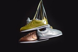 Nike's Cortez Goes for Gold, Silver & Bronze