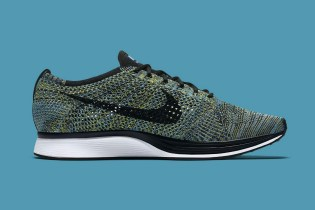"Nike Officially Unveils the Flyknit Racer ""Blue Glow"""