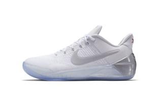 The Black Mamba's Nike Kobe A.D. Gets a Clean White Colorway