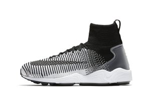 The Nike Mercurial Flyknit IX Is Dropping in a Sleek Black and White Colorway