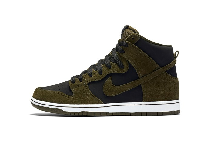 "Nike SB Is Dropping A ""Medium Olive"" Dunk Early Next Year"