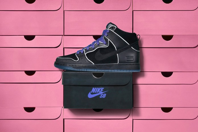 "Nike SB's Latest Dunk High Pays Homage to the ""Purple Box"""