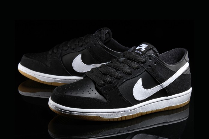 The Nike SB Dunk Low Pro Gets Dressed in a Classic Black/White/Gum Colorway