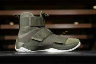 Nike Upgrades the Zoom LeBron Soldier 10 in Lux Olive Green