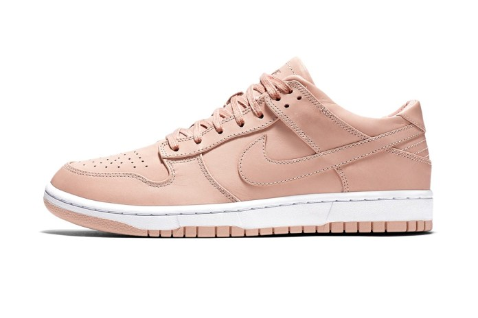 The NikeLab Dunk Luxe Low Is Returning in Natural Leather Colorways