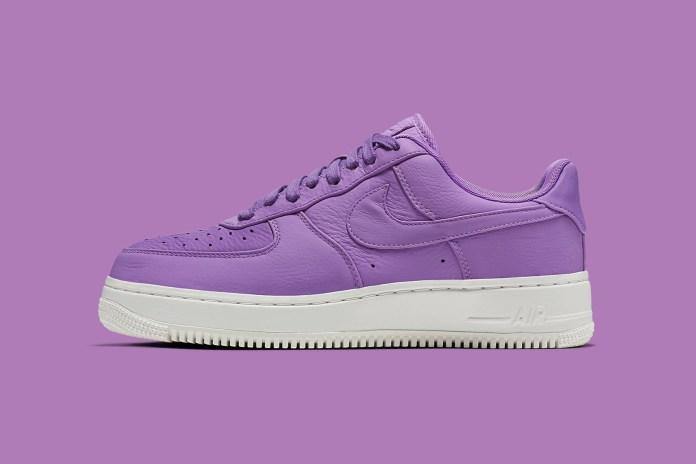 "NikeLab's Air Force 1 Low Is Getting A ""Purple Stardust"" Colorway"