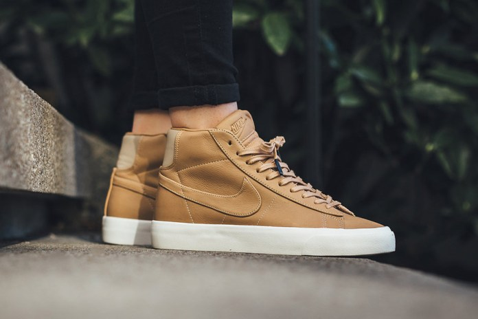 NikeLab Revamps the Blazer Mid With Premium Leather