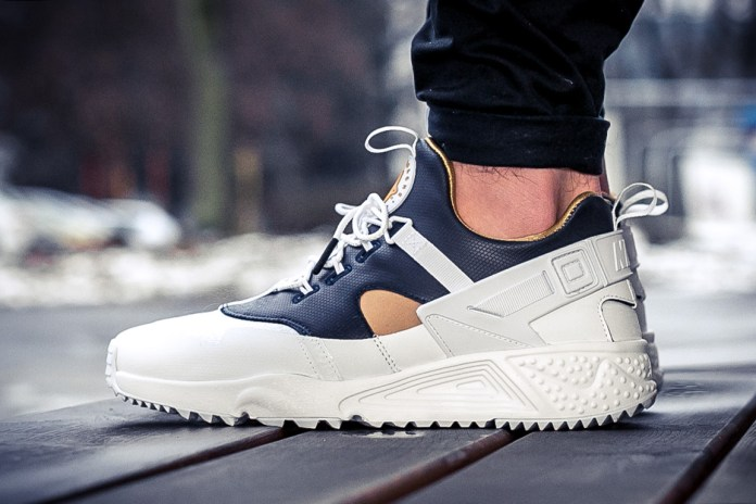 "Nike's Air Huarache Utility Receives A ""Premium White"" Treatment"