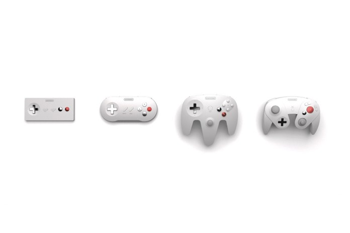 Nostalgic Designers Redesign Classic Nintendo Controllers for the Wireless Now