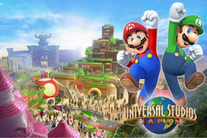 The Nintendo World Theme Park Receives an Opening Date