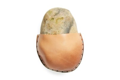 Gift Your Loved Ones a Pet Rock Wrapped in Supple Leather From Nordstrom