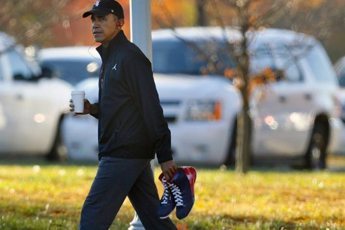 President Obama Signs a Bill Protecting Sneaker Manufacturers in the U.S.