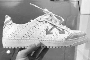"OFF-WHITE Teases a New ""Diagonal"" Sneaker"