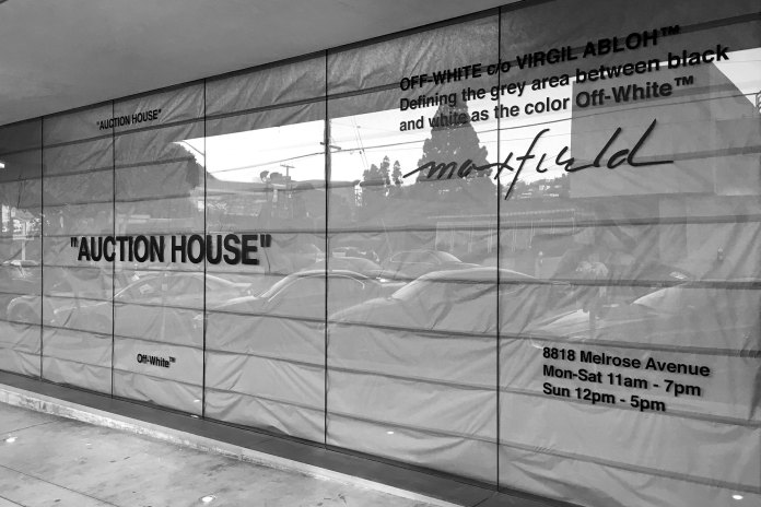 OFF-WHITE Is Set to Open a Temporary Shop in Los Angeles