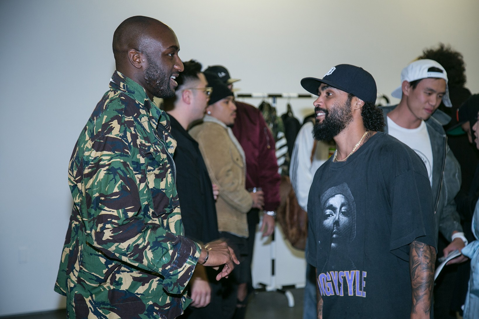 OFF-WHITE Pop-Up at Maxfield, A Look Inside Virgil Abloh Hollywood