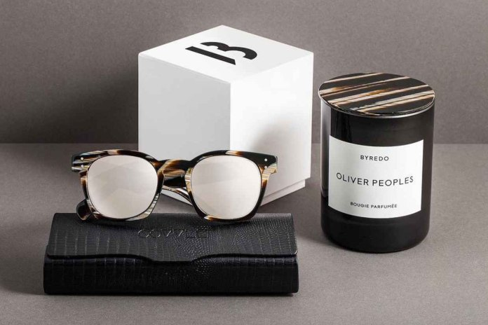 Oliver Peoples Links up With Byredo for Another Collection