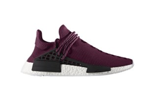 "Pharrell and adidas Originals Unveil the Hu NMD ""Noble Crimson"""