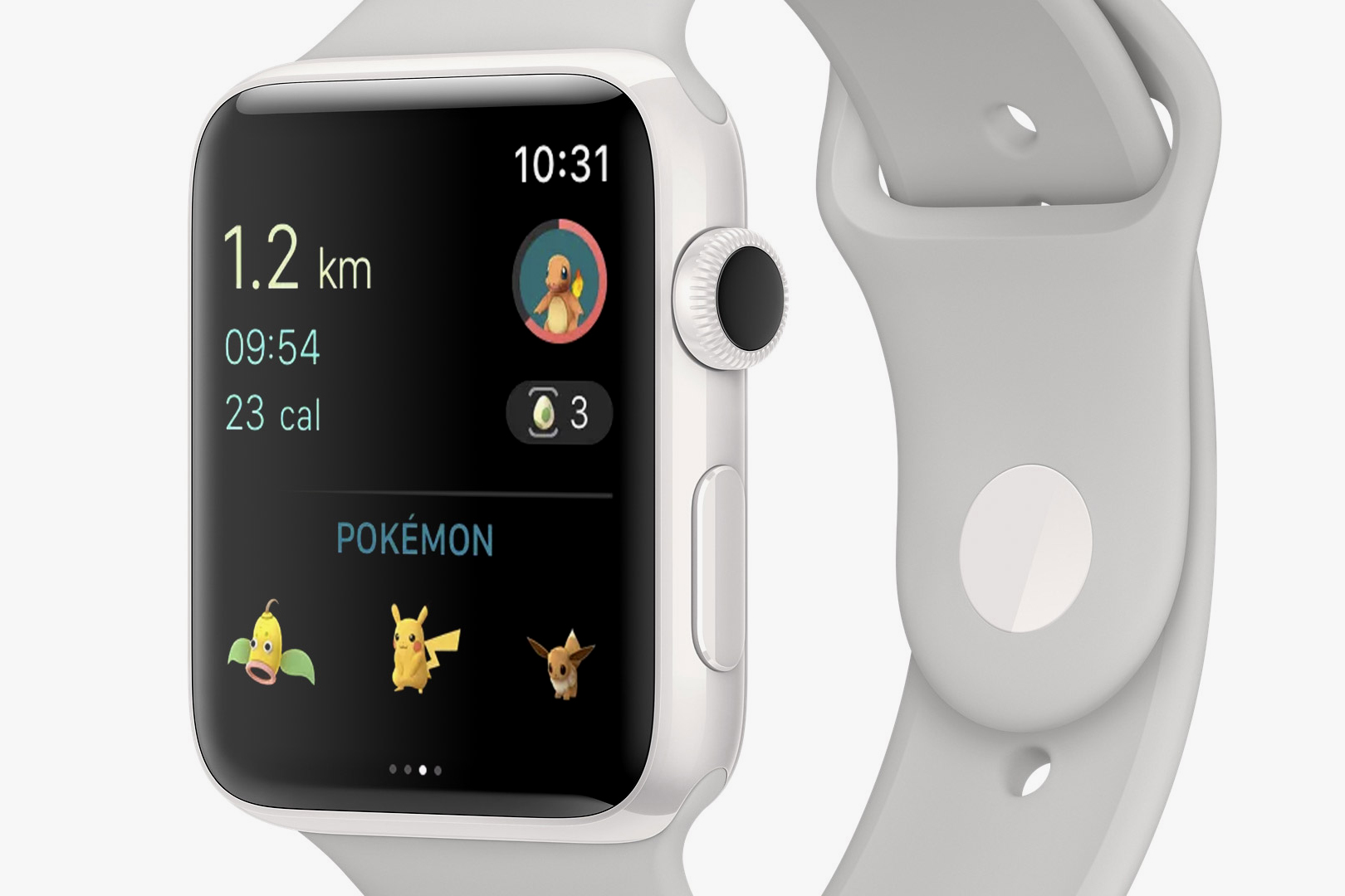 Apple Watch Pokemon GO iTunes watchOS
