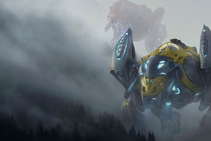New 'Power Rangers' Poster Teases Full Body Images of Some Zords