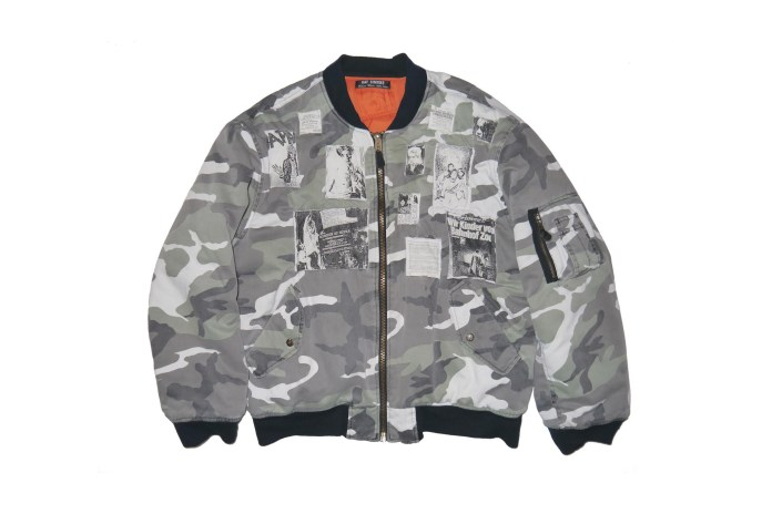 One of the Most Sought-After Raf Simons Jackets Can Be Yours Today