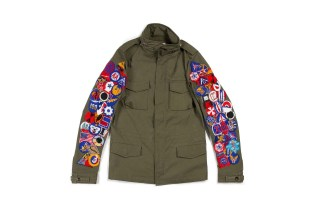 READYMADE Reworks Vintage Military Fabric Into Jackets and Bags