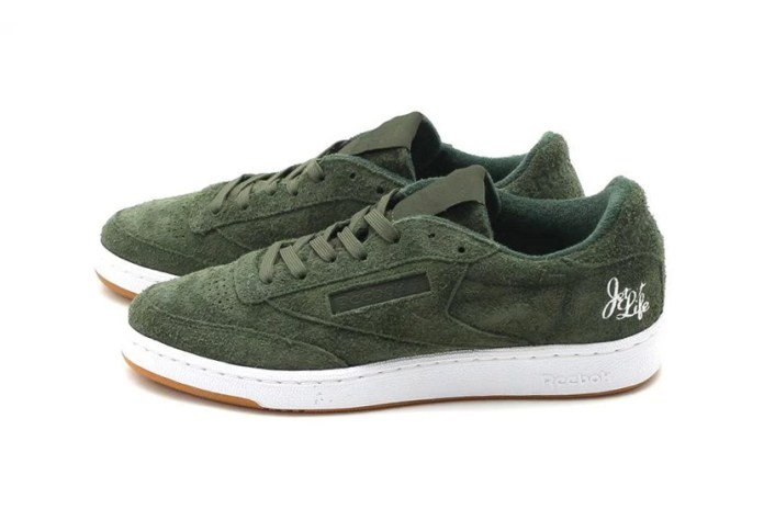 Reebok Classic Drops Club C 85 JL Collaboration With Curren$y