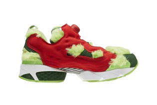 "Reebok Is Set to Release the Instapump Fury ""Grinch"" for the Holidays"