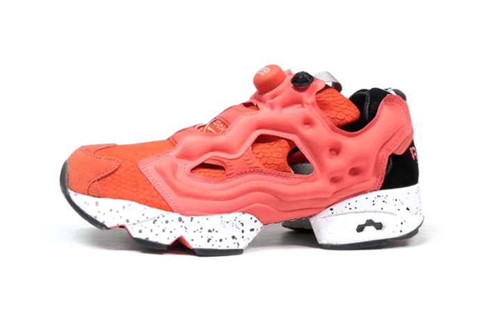 "mita sneakers, END. and Reebok Collaborate on the Insta Pump Fury ""Salmon"""