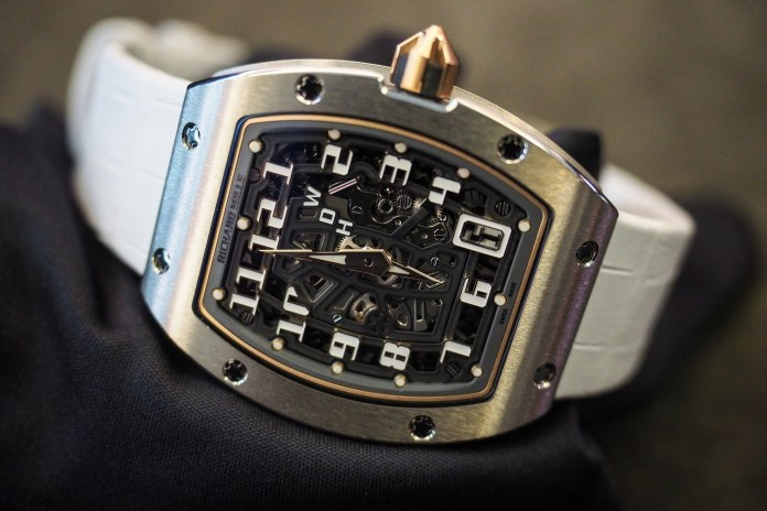Luxury Watchmaker Richard Mille Bucks Downward Watch Industry Trends With Double-Digit Growth