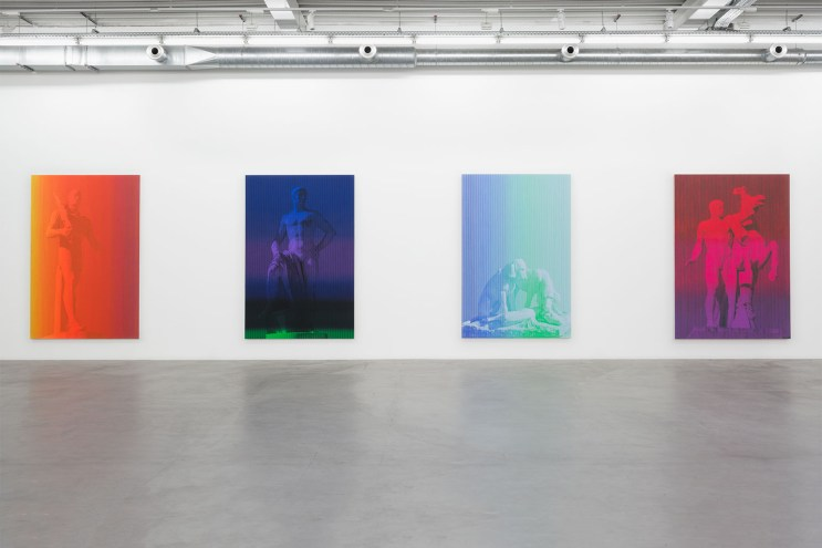 Cy Twombly's Paintings Reinterpreted by Artist Richard Phillips